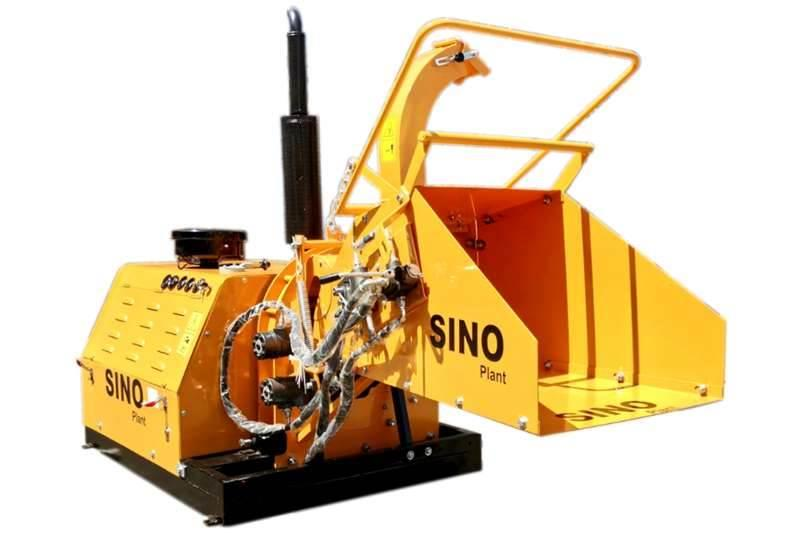 Sino Plant Wood Chipper 200mm Diesel Skid Mount