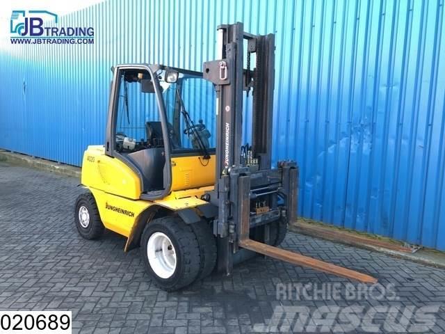 Jungheinrich DFG40 4 Tons / 4000 kg Forklift, 60 KW, Max H 3,50