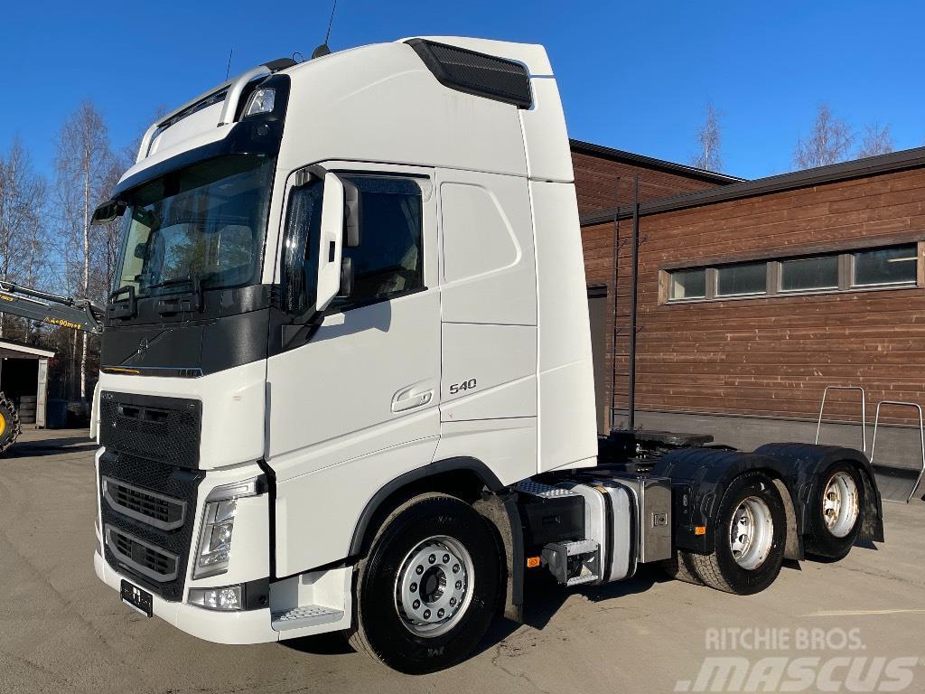 Volvo FH540XL 6x2 ajettu 238tkm