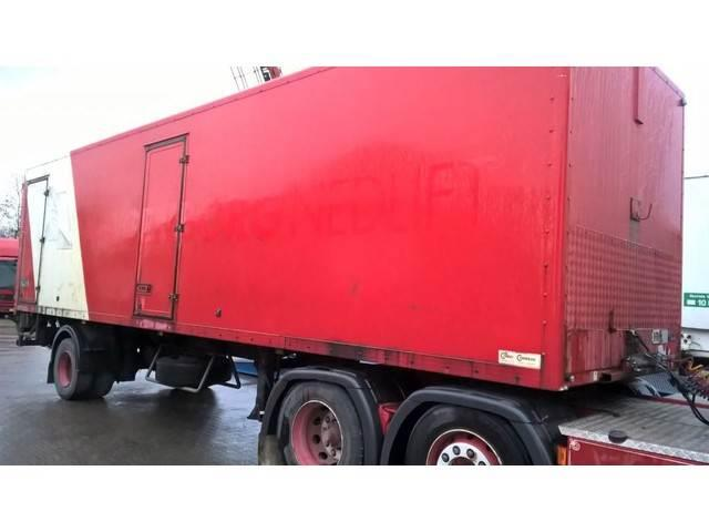 Vogelzang City 1 axle steering Box