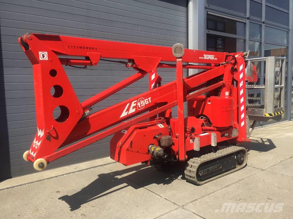 Teupen Leo15GT, 2008, Articulated boom lifts