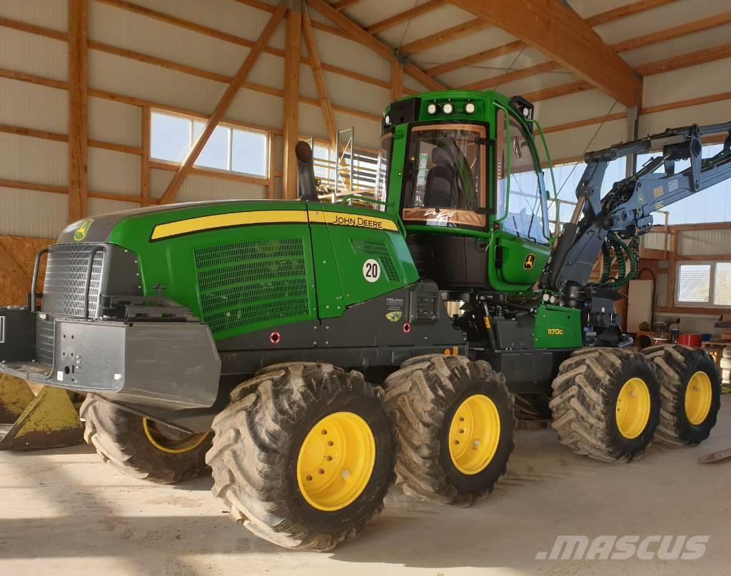 John Deere 1170G 8WD !NEW H414!