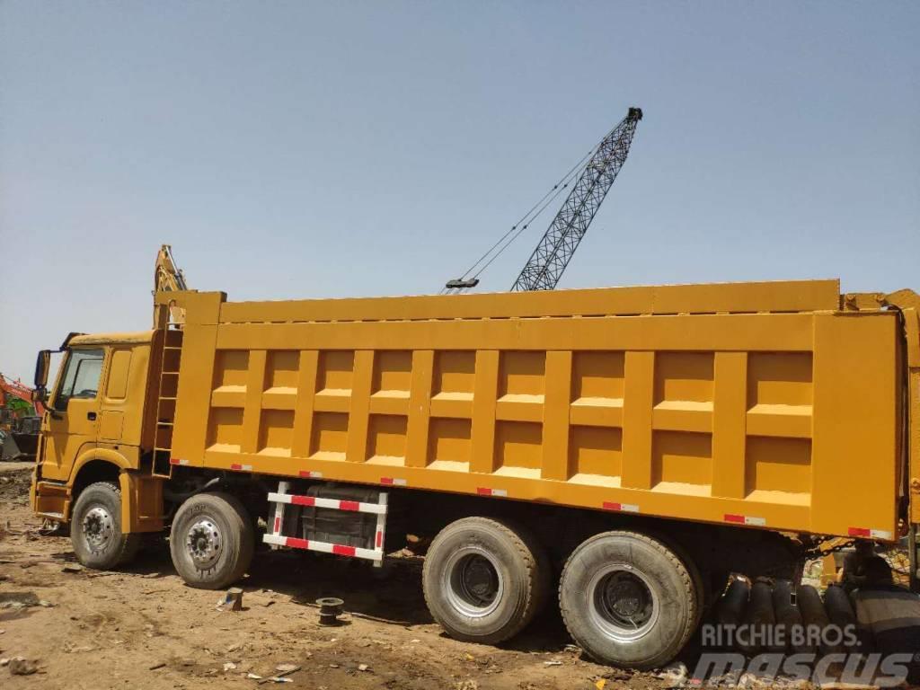 Howo dump truck 8x4 wheel