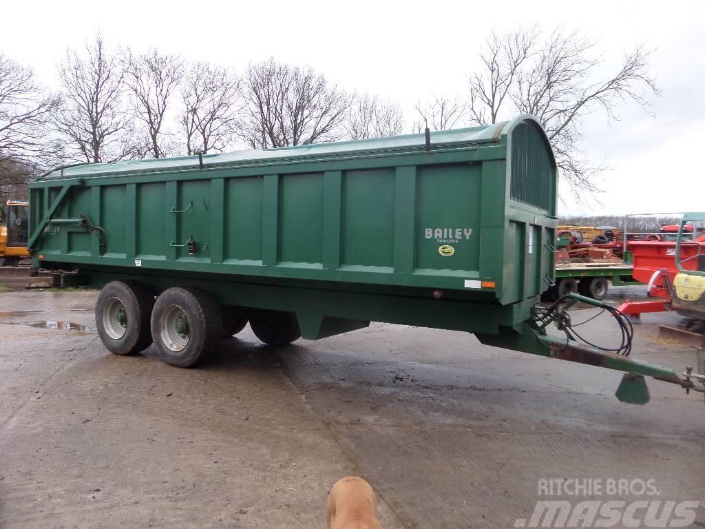 Bailey 16 tonne tipping trailer