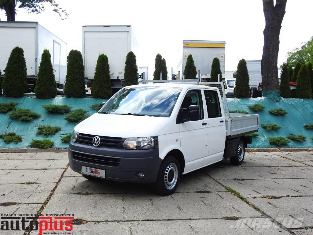 used volkswagen transporter t5 doka 4x4 6 miejsc pickup trucks year 2012 price 17 825 for. Black Bedroom Furniture Sets. Home Design Ideas