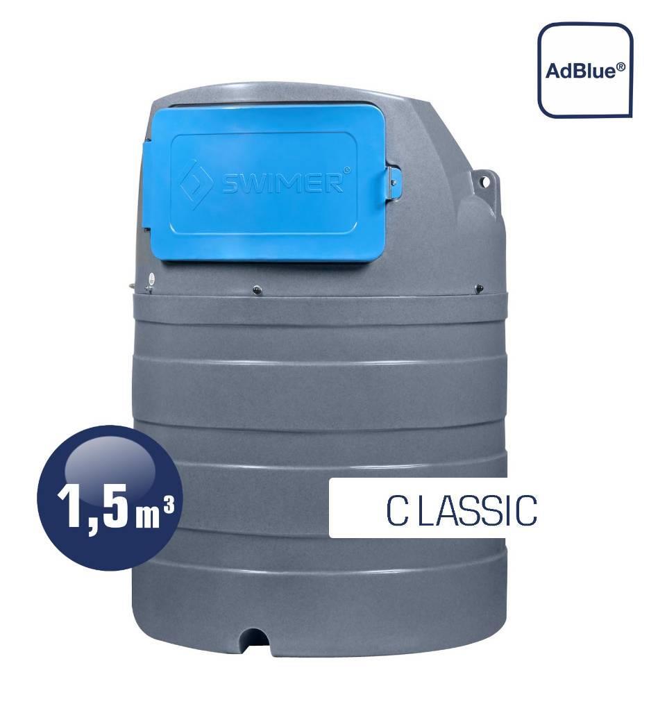 Swimer Tank Blue 1500 Eco-line Classic dwupłaszczowy