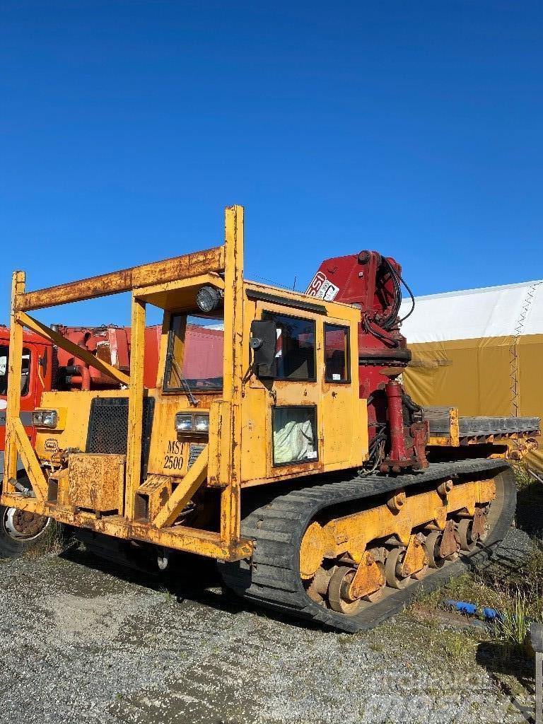 Morooka MST 2500 40 Ton crane