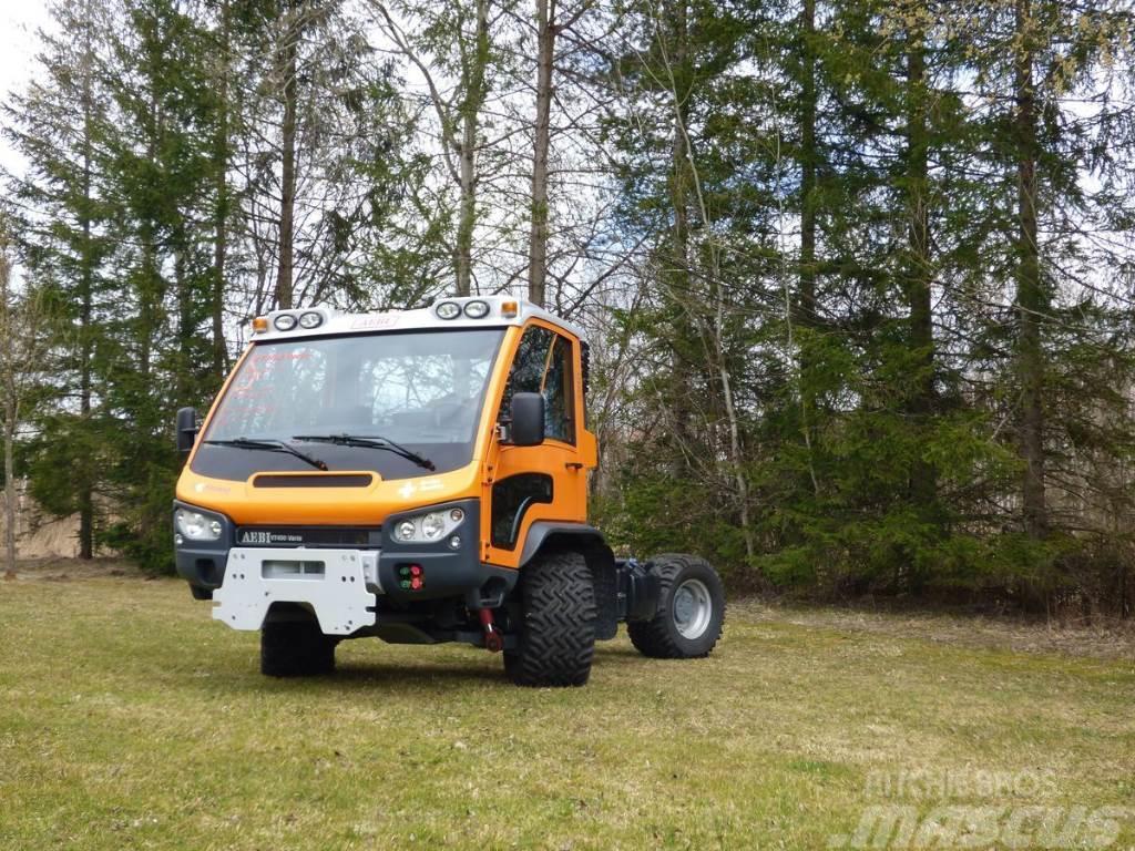 Aebi VT 450 Vario 4x4 Hydrostat Euro 6
