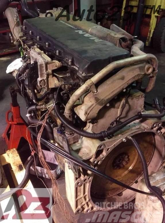 [Other] Silnik MAN D2066LF Euro4 D20 E4 MAN D20 MAN TGA MA