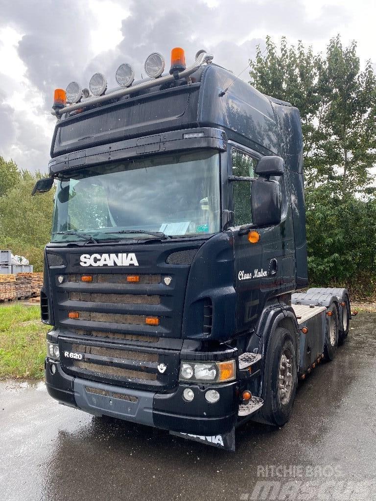 Scania R620 6x2 2-string Hydraulik - Manuel