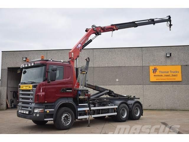 Scania R 480 6X4 CONTAINERSYSTEEM - HAAKSYSTEEM