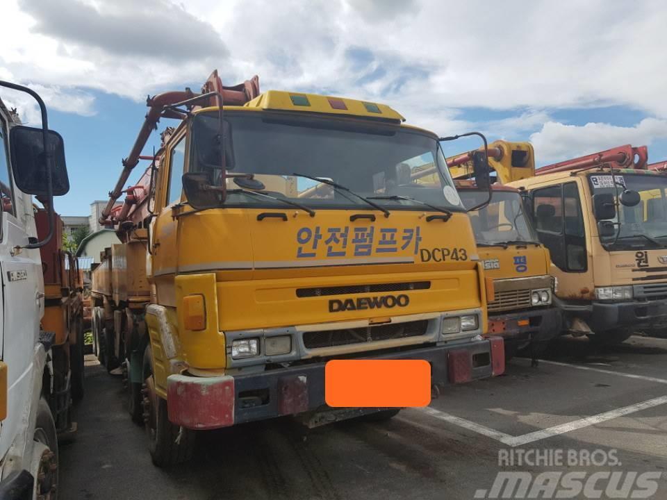 Daewoo Putzmeiser DCP43(43m)