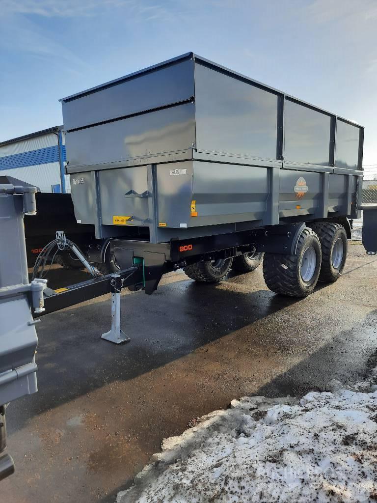 Palmse Dumpervagn D1900 för omg lev