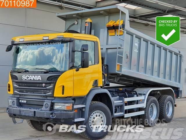 Scania P410 6X4 Manual Big-Axle Steelsuspension Euro 3