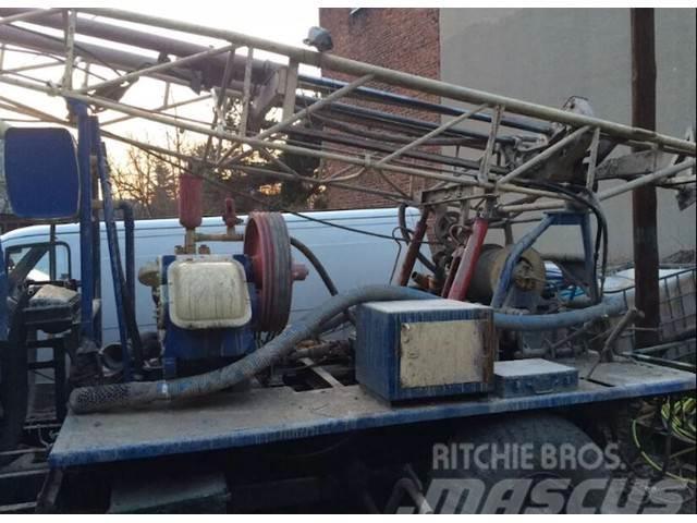 Ursus UGB - 50 na samochodzie GAZ 66