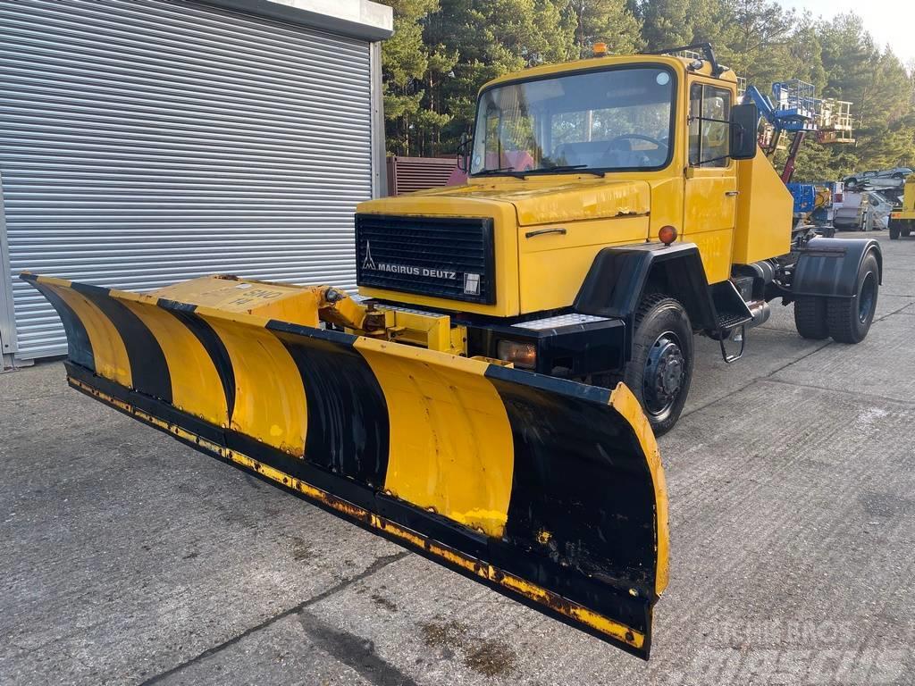 Magirus Deutz Iveco 310 4x4 4wd Snow plough ( Two Available)