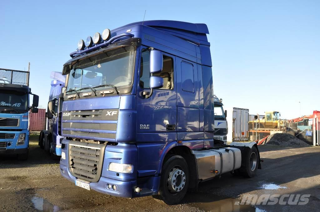 DAF FT105410T  Euro 5, 2007, Dragbilar