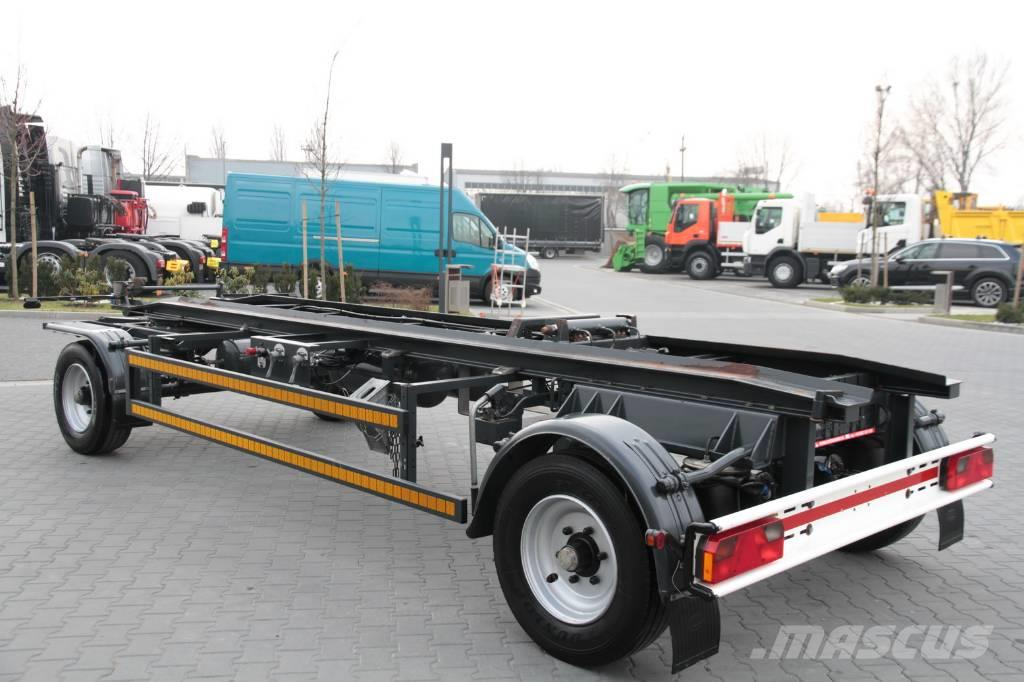 Robertz hook container chassis trailer awl occasion prix for Prix container d occasion