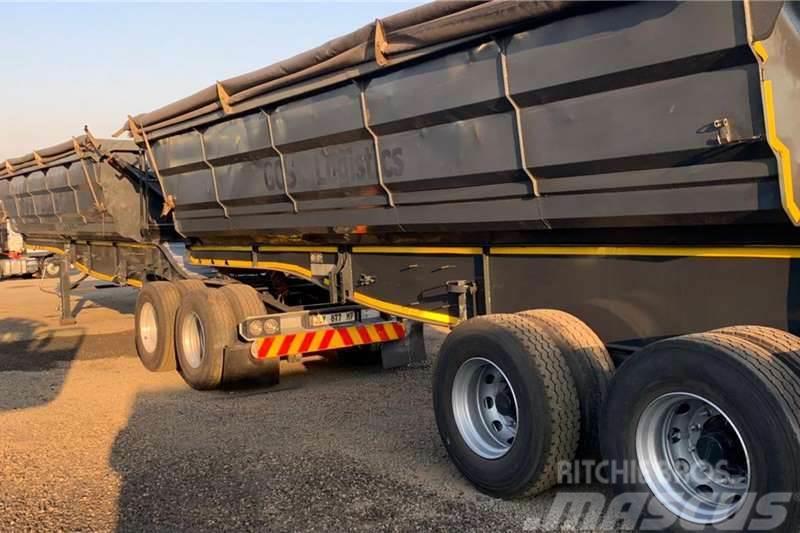 Sa Truck Bodies 2017 SA Truck Bodies 45m3 Interlink Side Tipper