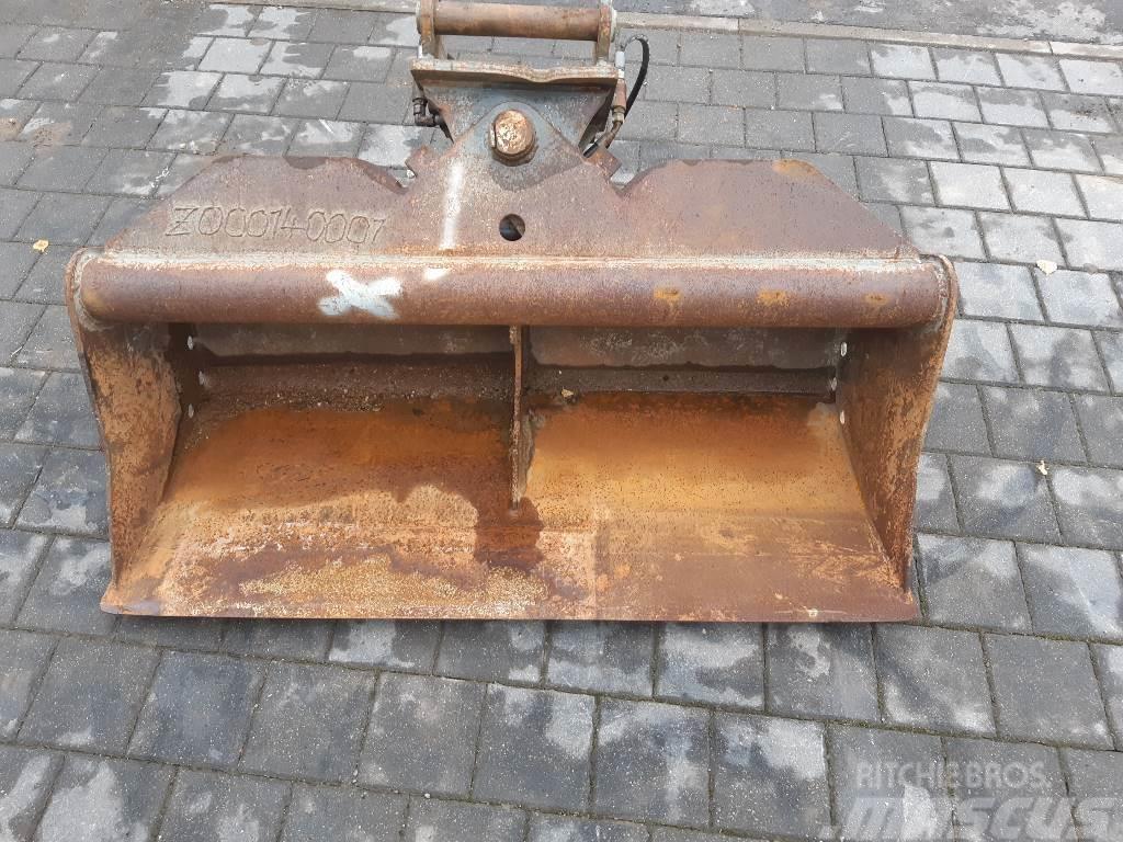 Wacker Neuson Schwenklöffel und Easy Lock HS08