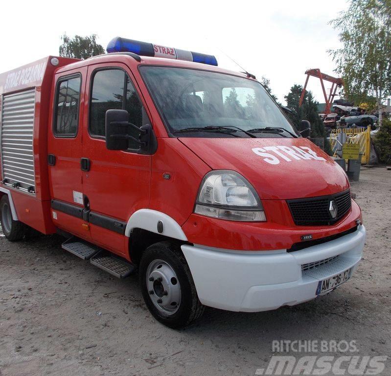 Renault Mascott Straż Pożarniczy