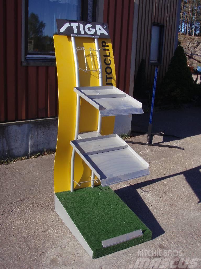 Stiga Autoclipställ Displayställ