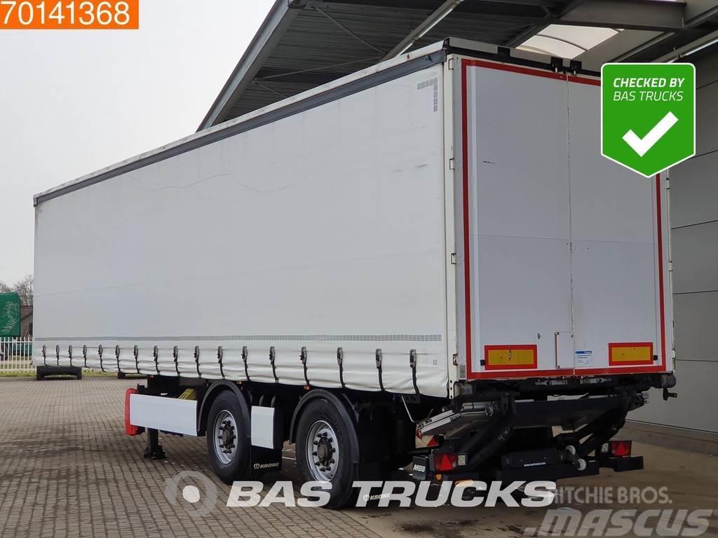 Krone SZ 2-As City + Laadklep 2 axles Steering axle