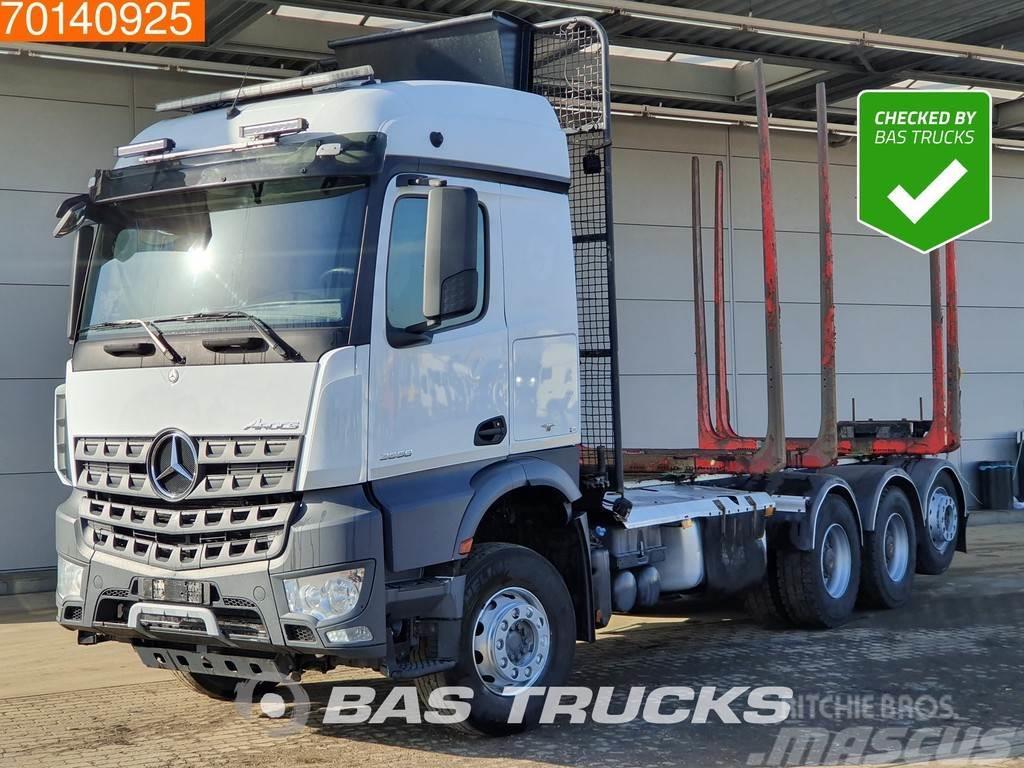 Mercedes-Benz Arocs 3558 L 8X4 Retarder Big-Axle Lift+Lenkachse