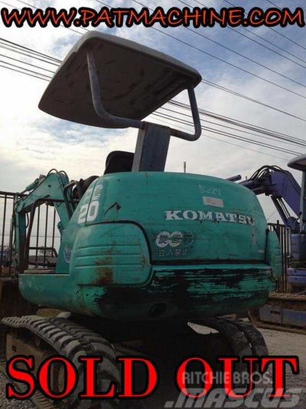 Komatsu รถขุดเล็ก