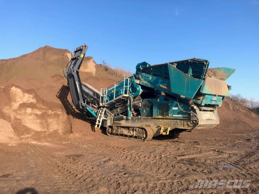 PowerScreen Warrior 1400 X