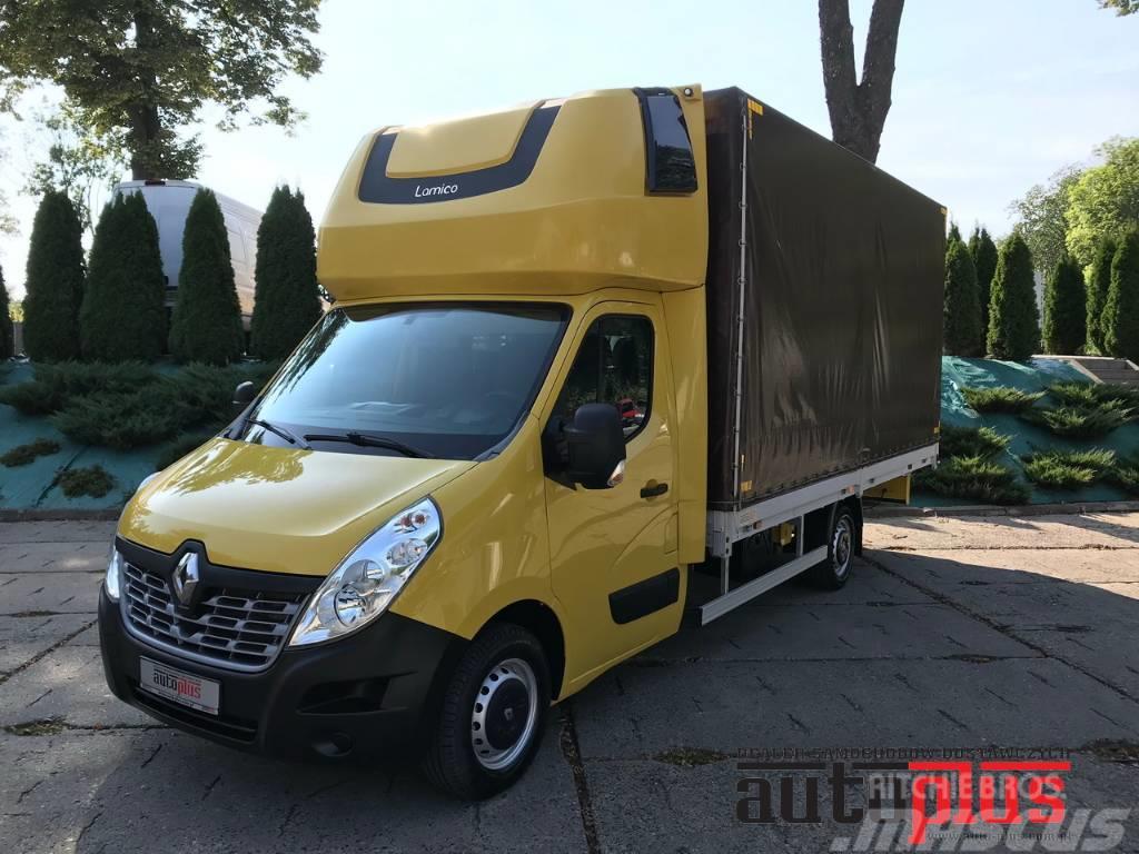 Renault MASTER 10 PALETS TARPAULIN WEBASTO A/C TEMPOMAT