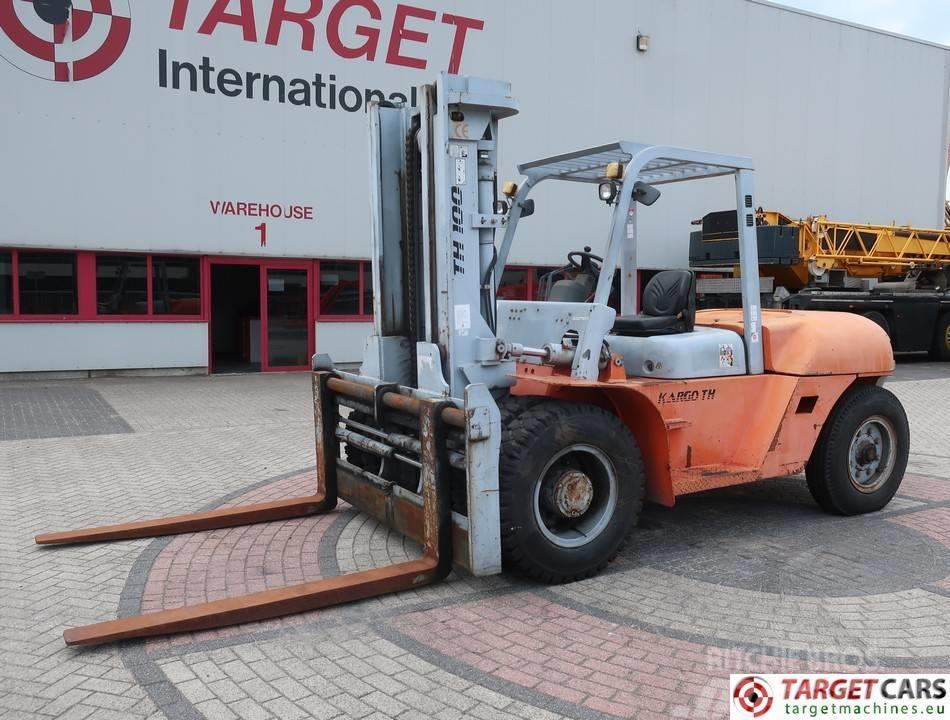 [Other] Kargo TH100 Diesel 10T Duplex-300cm Forklift SideS