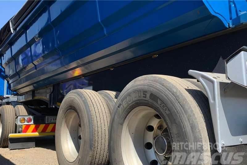 Sa Truck Bodies 2015 SA Truck Bodies 45m3 Side Tipper
