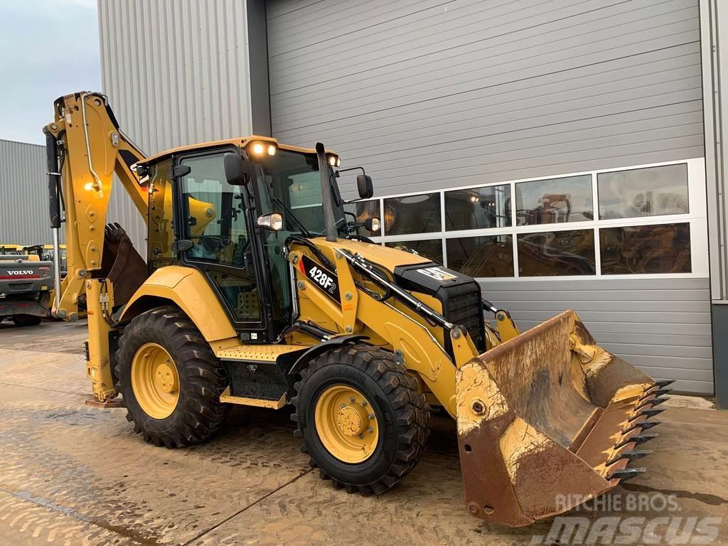 Caterpillar 428F2 4x4 Backhoe Loader