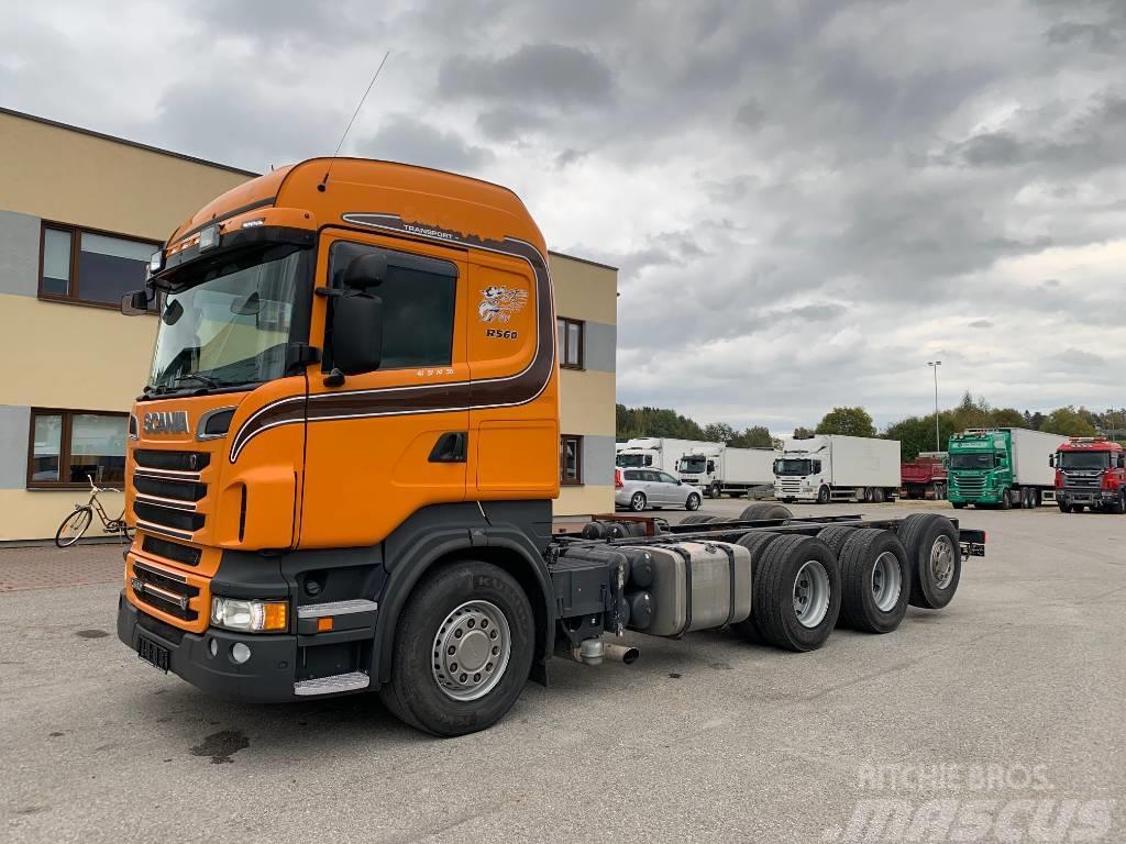 Scania R560 8x4+RETRADER+ 2X PTO