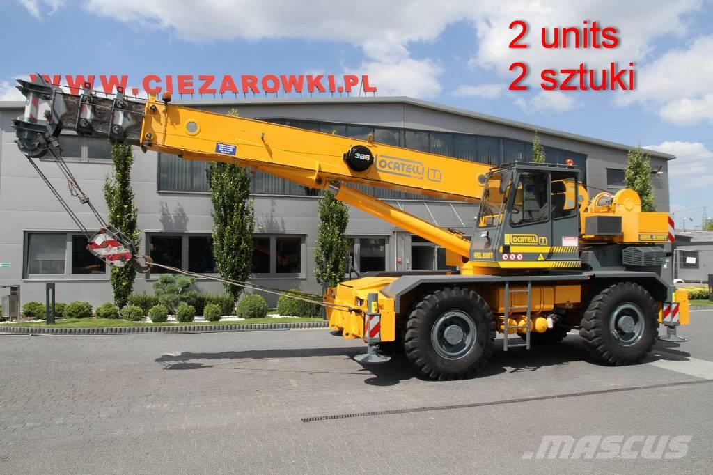 Locatelli ROUGH TERRAIN CRANE GRIL8300T 4x4x4