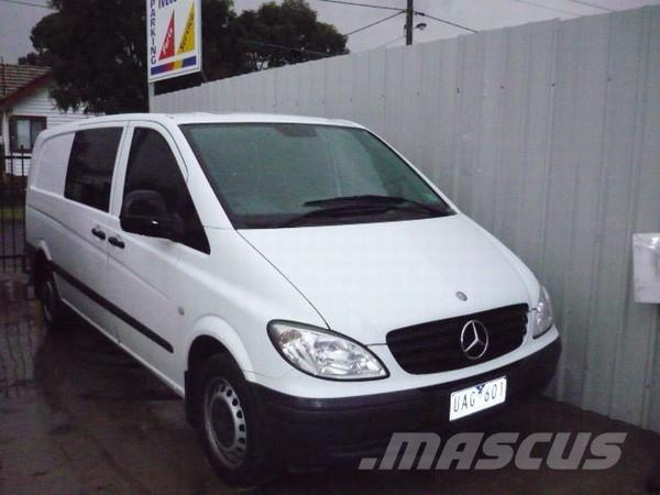 Mercedes-Benz Vito 115CDI XL Crew Cab Ltd Ed