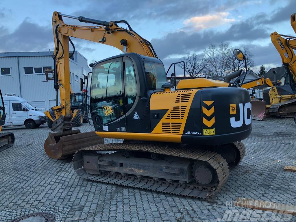 JCB JS 145 LC Tier 4i kettenbagger excavator HRS2900
