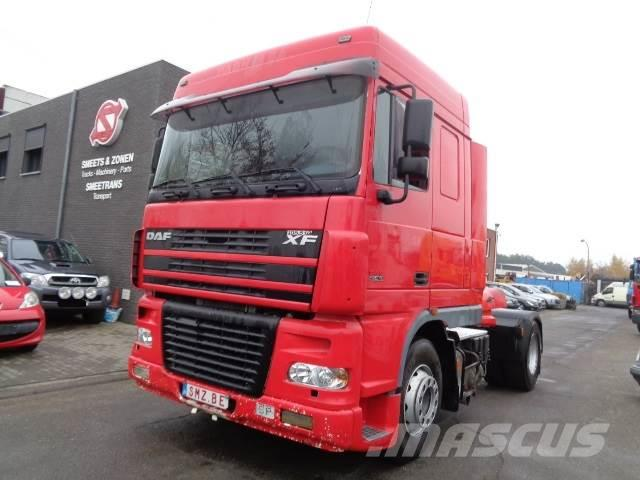 DAF 95 XF 480 spacecab Astronic/intarder