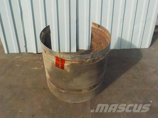 DAF XF 95 Heat shield exhaust 1670955 1670961