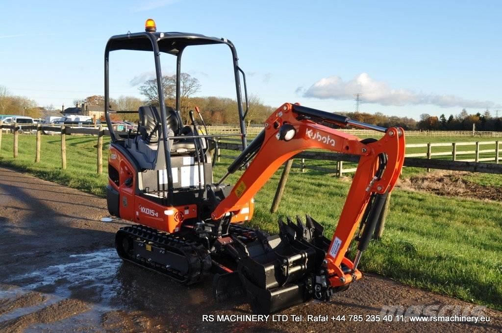 Kubota KX 015-4 MINI EXCAVATOR / DIGGER New / Unused
