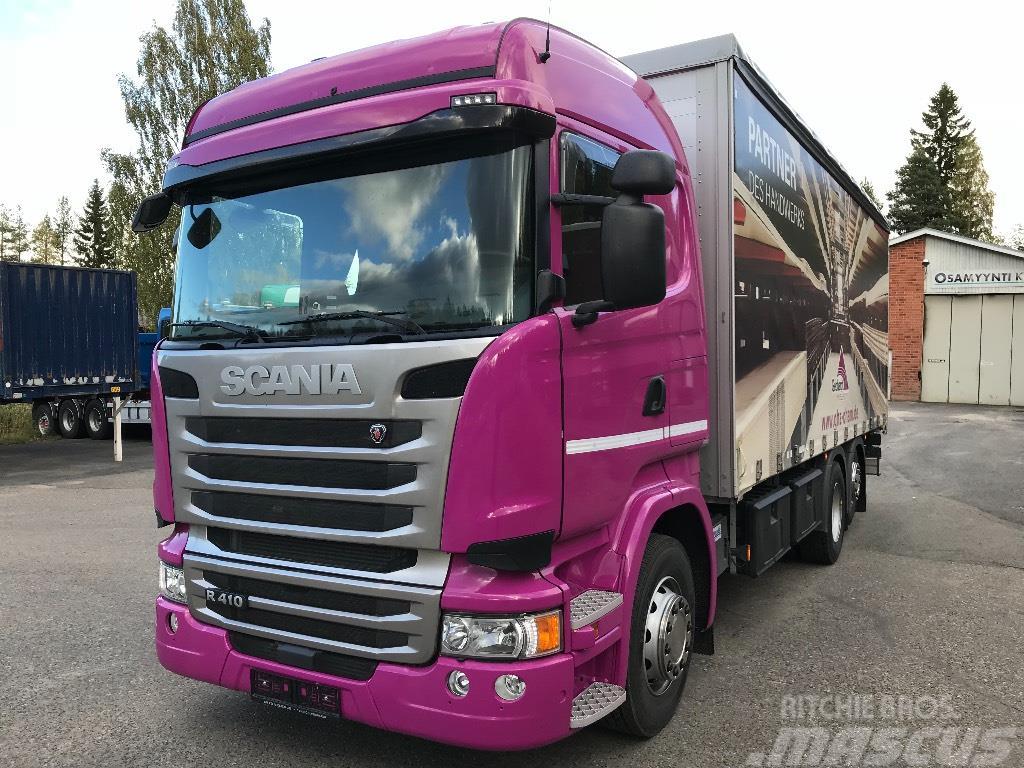 Scania R410 6x2 ajettu vain 9800km kapellilavalla
