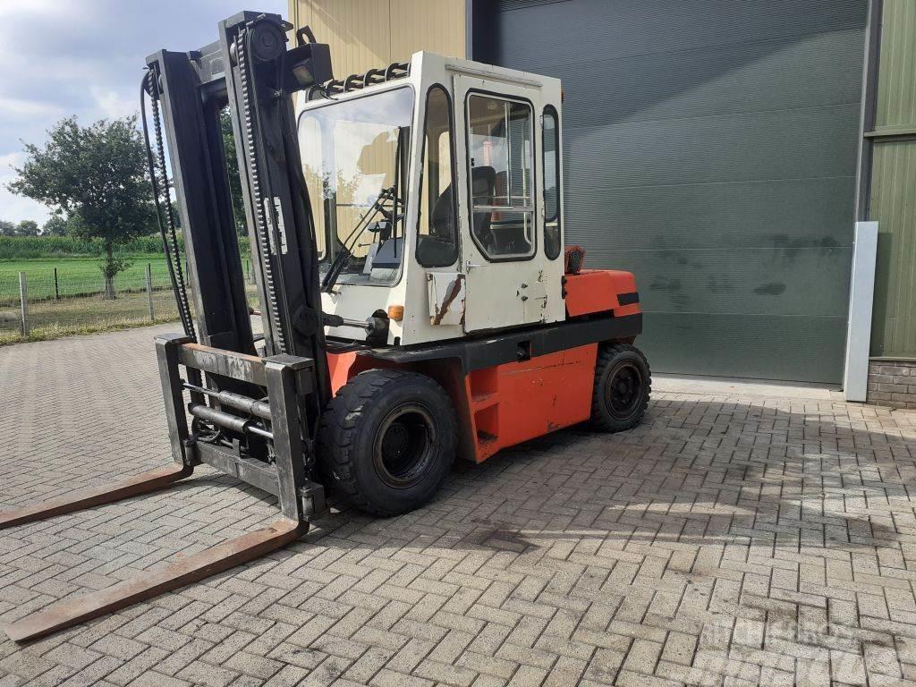 Kalmar 5,5-600 heftruck diesel met lepelversteling