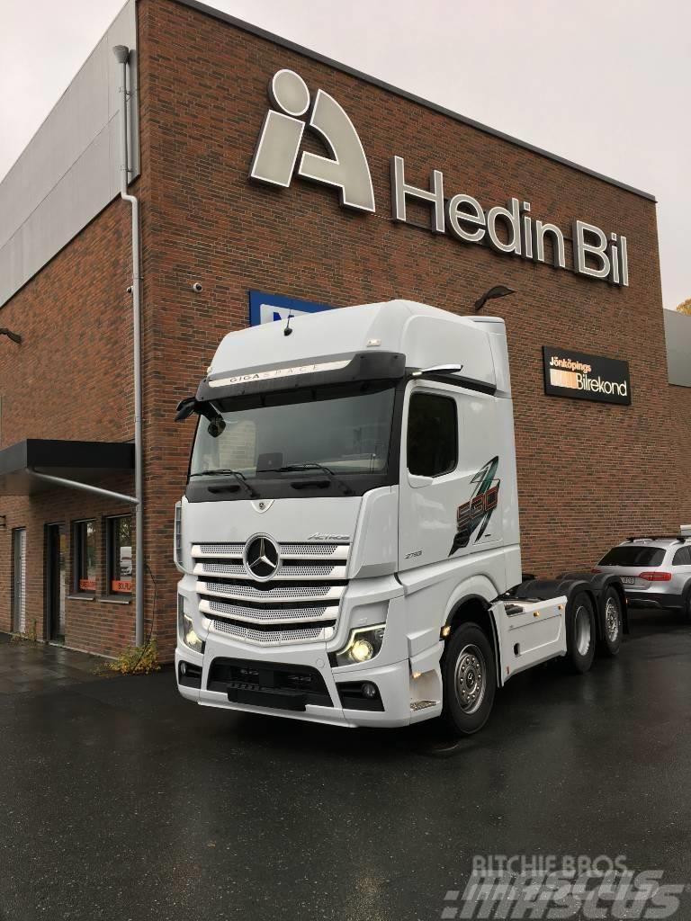 Mercedes-Benz Actros 2753 LS 6x2 Dragbil
