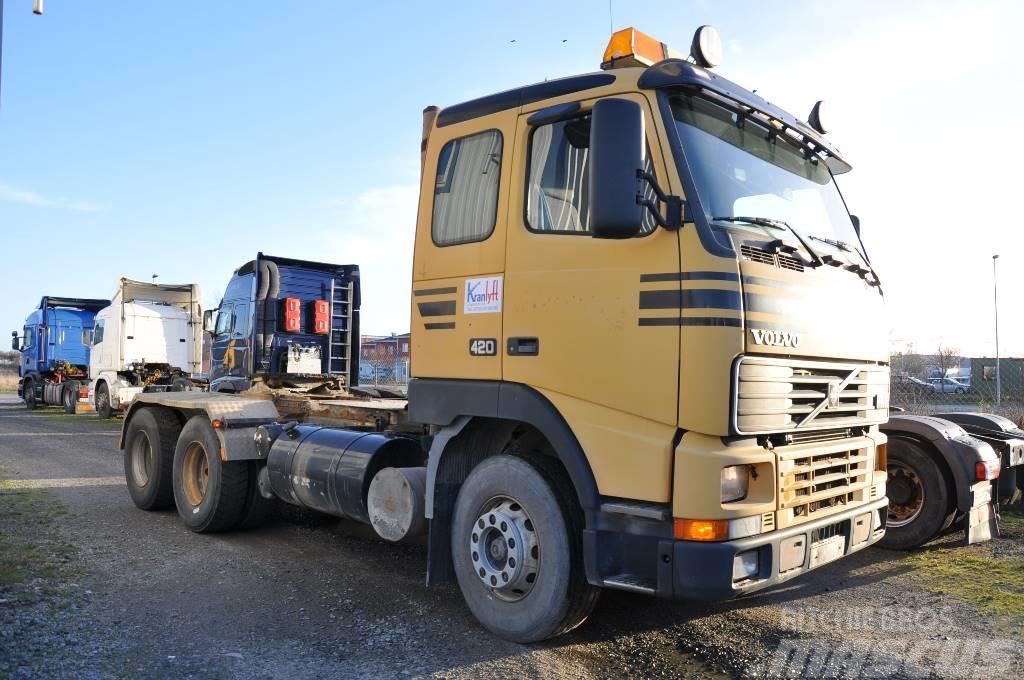 Volvo FH12 420 6X4 Parabel Hydraulik
