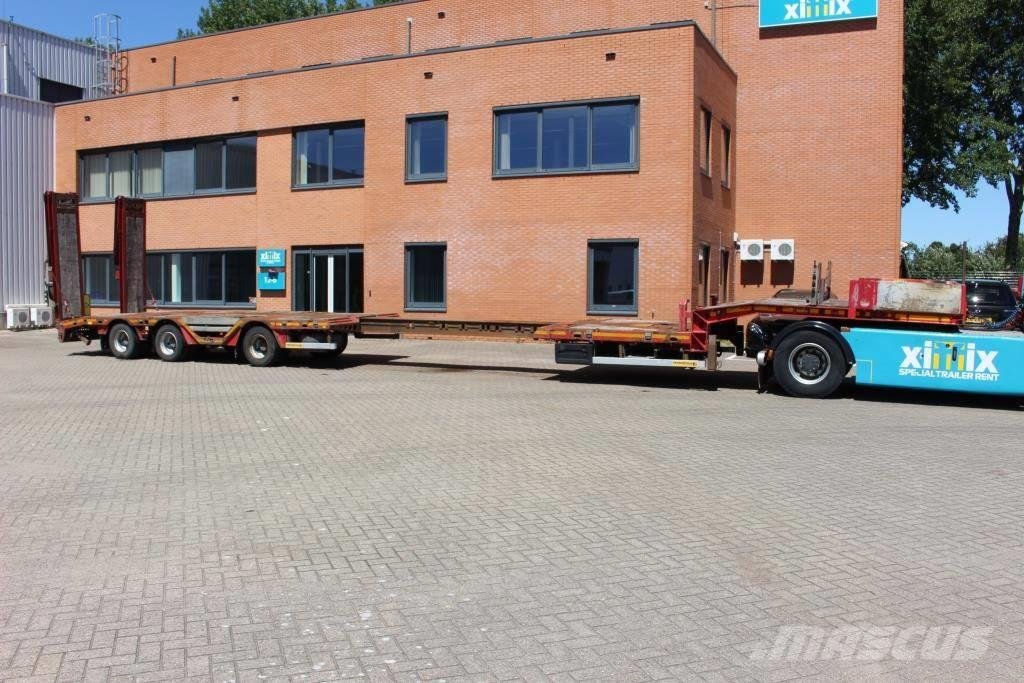 Faymonville 3-axle extendable Semi-lowloader with hydr. ramps
