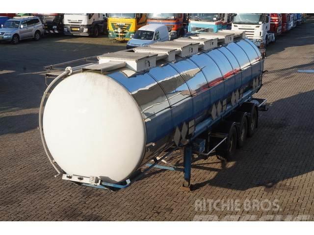 Van Hool Tank RVS 31.000LTR 3-assig liftas