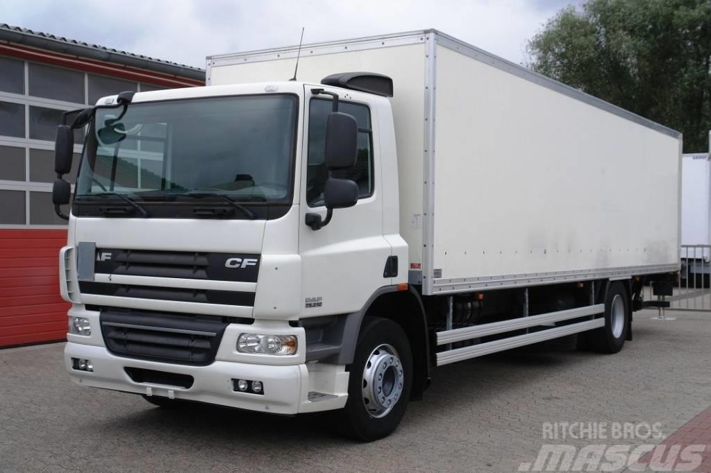 DAF CF 75.310 Koffer 8,80m LBW 2000kg EURO5 TÜV