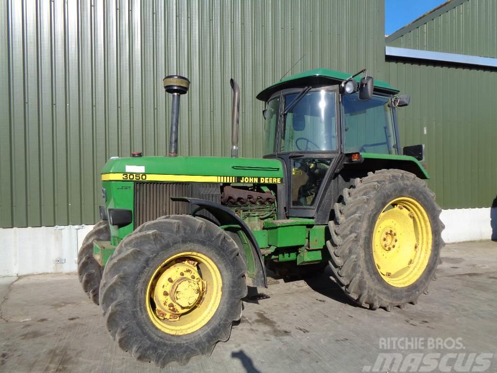 John Deere 3050 4wd Tractor