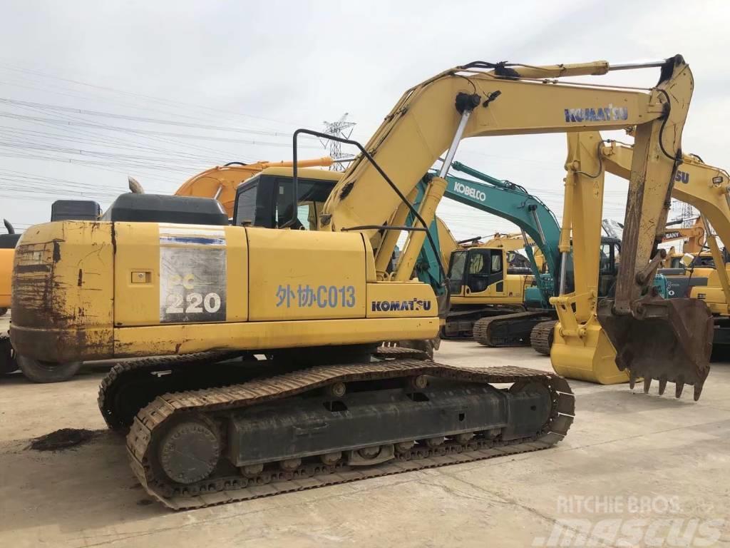 Komatsu PC220-7  PC200-7履带式挖掘机